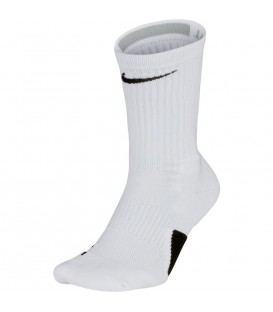 calcetines nike elite unisex sx7622-100 en color blanco