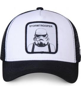 gorra capslab BC en color blanco negro al mejor precio en tu tienda en pontevedra
