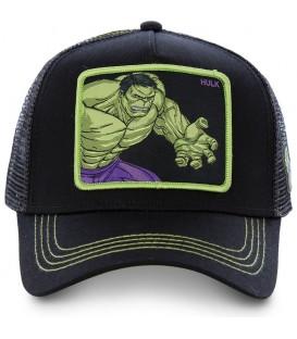 Gorra capslab en color negro con la imagen de hulk en tu tienda online chemaport.es