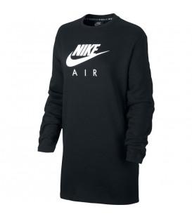 vestido nike air para mujer en color negro bv5134-010