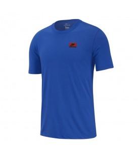 Camiseta para hombre Nike Dangerous YTH de color azul barata en tu tienda de deportes online chemasport.es