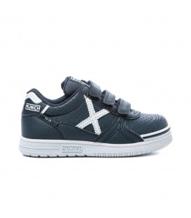 Zapatillas munich para niño en color azul marino al mejor precio en tu tienda online chemasport.es