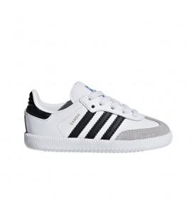 Deportivas para niños adidas Samba OG K BB6969 de color blanco al mejor precio en tu tienda de deportivas de moda en Pontevedra chemasport.es
