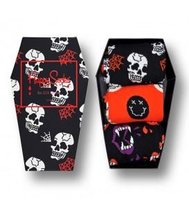 Pack de 3 calcetines de algodón Happy Socks Halloween al mejor precio en tu tienda de moda online chemasport.es