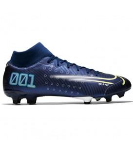 Botas de fútbol para hombre Nike Mercurial Superfly 7 Academy de color azul al mejor precio en tu tienda de deportes online chemasport.es