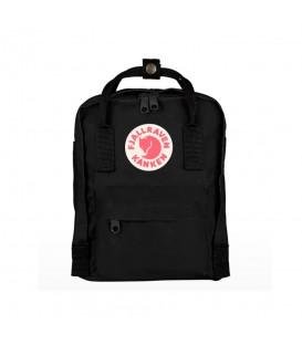 Mochila para niños Fjällraven Kanken Mini F23561-550 de color negro al mejor precio en tu tienda de deportes online chemasport.es