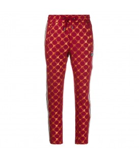 Pantalón para mujer con logo de Fila de color rojo al mejor precio en tu tienda de moda online chemasport.es