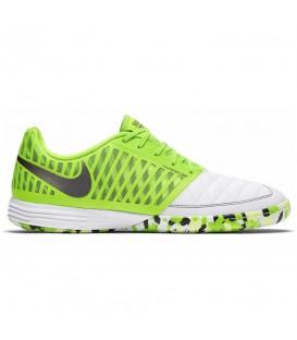 Zapatillas de fútbol sala para hombre Nike Lunar Gato II de color verde al mejor precio en tu tienda de deportivas de moda chemasport.es