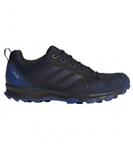 Deportivas de trail para hombre adidas Terrex Tracerocker GTX de color negro y azul marino al mejor precio en chemasport.es