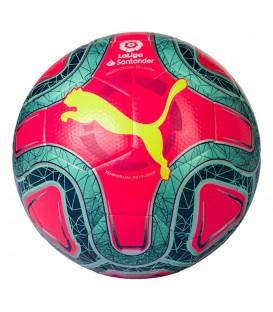 Balón de fútbol Puma La Liga 1 FIFA de color rosa para la temporada 2019/2020 al mejor precio en tu tienda de deportes online chemasport.es