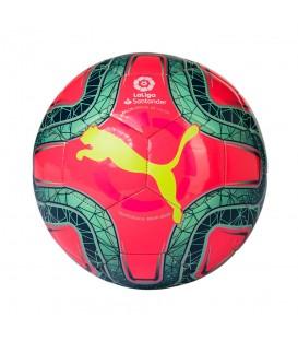 Mini balón de fútbol Puma La Liga 1 2019/2020 de color rosa al mejor precio en tu tienda de fútbol online chemasport.es