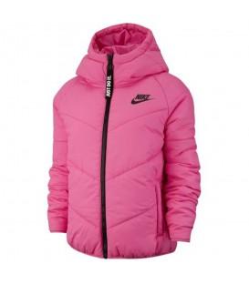 Cazadora para mujer Nike Sportswear Windrunner de color rosa al mejor precio en tu tienda de deportes online chemasport.es