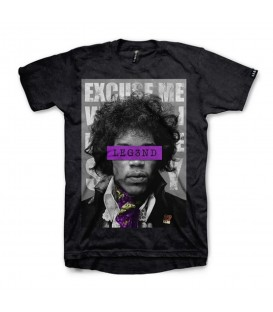 Camiseta para hombre y mujer Leg3nd Hendrix de manga corta y color negro al mejor precio en tu tienda de deportes chemasport.es