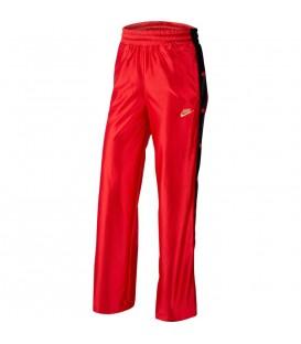Pantalón de mujer con aberturas laterales Nike Sportswear de color rojo al mejor precio en tu tienda de moda online chemasport.es