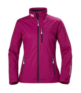 Cazadora para mujer impermeable Helly Hansen W Crew Midlayer de color violeta al mejor precio en tu tienda de deportes online chemasport.es
