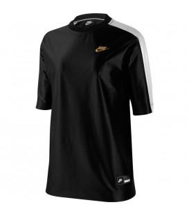Camiseta para mujer Nike Sportswear de color negro al mejor precio en tu tienda de deportes online chemasport.es