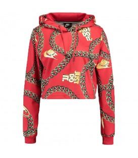 Sudadera para mujer Nike Sportswear Cropped con cadenas al mejor precio en tu tienda de deportes online chemasport.es