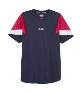 Camiseta técnica para padel y tenis Ellesse Beasley de color azul marino al mejor precio en tu tienda de deportes online chemasport.es