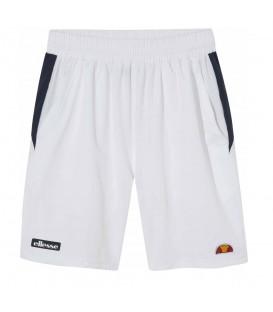 Pantalón corto de entrenamiento para padel o tenis Ellesse Newton de color blanco al mejor precio en tu tienda de deportes online chemasport.es