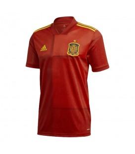 Camiseta adidas primera equipación España de fútbol temporada 2019/2020 al mejor precio en tu tienda de fútbol online chemasport.es