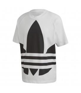 Camiseta para hombre adidas Big Trefoil Boxy de color blanco al mejor precio en tu tienda de deportes online chemasport.es