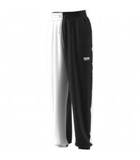 Pantalón para mujer adidas RYV de color blanco y negro al mejor precio en tu tienda de deportes online chemasport.es