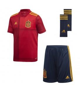 Conjunto para niños de adidas primera equipación de fútbol España 2019/2020 al mejor precio en tu tienda de deportes online chemasport.es