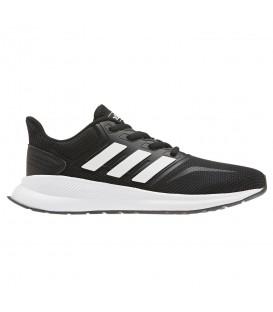 Deportivas de running para niños y mujer adidas Runfalcon W EG2545 de color negro al mejor precio en tu tienda de deportes online chemasport.es