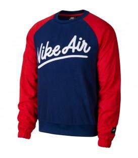 sudadera nike air para hombre en color azul disponible en tu tienda online chemasport.es