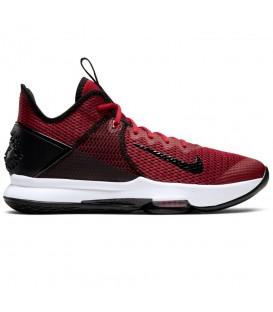 Zapatillas de baloncesto para hombre Nike Lebron Witness 4 de color rojo al mejor precio en tu tienda de deportes online chemasport.es