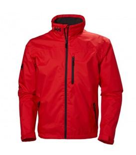 Cazadora cortavientos e impermeable Helly Hansen Crew Midlayer de color rojo al mejor precio en tu tienda de deportes online chemasport.es