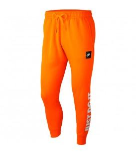 Pantalón jogger de color naranja Nike Sportswear JDI Fleece al mejor precio en chemasport.es