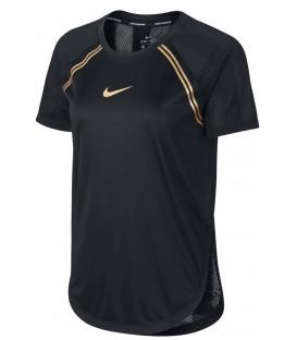 camiseta nike top glam para mujer en color negro disponible en tu tienda online chemasport.es