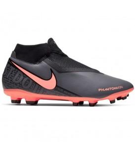 Botas de fútbol para hombre Nike Phanton Vision Academy Fit AO3258-080 de color gris y naranja al mejor precio en chemasport.es