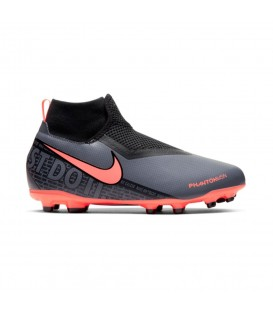 Botas de fútbol para niños Nike Phanton Vision Academy FIT AO3287-080 de color gris al mejor precio en tu tienda de deportes online chemasport.es