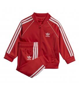 Chándal para niños adidas superstar de color rojo al mejor precio en tu tienda de deportes online chemasport.es