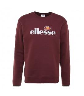 Sudadera para hombre Ellesse Leeti 2 de color granate al mejor precio en tu tienda de deportes online chemasport.es