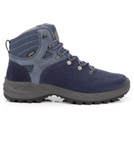 Botas de trekking para mujer Chiruca Biescas Goretex de color azul 44142 de color azul al mejor precio en chemasport.es