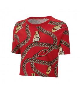 Camiseta para mujer Nike Sportswear Icon Clash con estampado de cadenas al mejor precio en tu tienda de deportes online chemasport.es