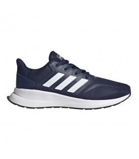 Deportivas de running para mujer y niños Runfalcon K de color azul marino al mejor precio en tu tienda de running online chemasport.es