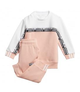 Chándal para niños de color rosa con sudadera y pantalón al mejor precio en tu tienda de moda y deportes online chemasport.es
