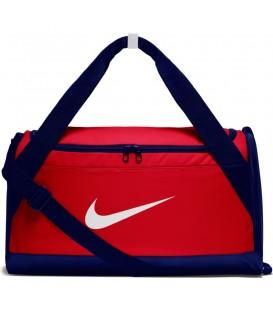Bolsa de entrenamiento para el gimnasio Nike Brasilia tamaño pequeño de color azul y rojo al mejor precio en tu tienda de deportes online chemasport.es