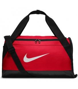 Bolsa de entrenamiento unisex Nike Brasilia Small de color rojo y negro al mejor precio en tu tienda de deportes online chemasport.es