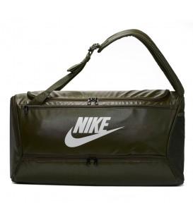 Bolsa de entrenamiento grande para gimnasio Nike Brasilia de color verde al mejor precio en tu tienda de deportes online chemasport.es