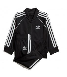Chándal para niños adidas Originals Superstar de color negro al mejor precio en tu tienda de deportes online chemasport.es