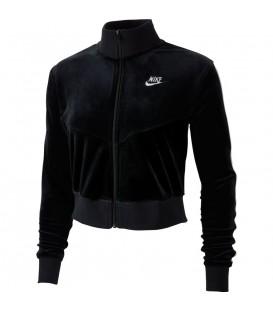 Chaqueta para mujer Nike Sportswear Heritage Track de color negro al mejor precio en tu tienda de deportes online chemasport.es