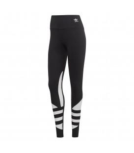Mallas de algodón para mujer adidas Logo FQ6822 de color negro al mejor precio en tu tienda de deportes online chemasport.es