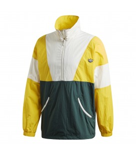 Sudadera para hombre adidas Track Top FM2202 de color amarillo al mejor precio en tu tienda de deportes online chemasport.es