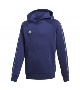 Sudadera de fútbol para niños adidas Core 18 de color azul marino al mejor precio en tu tienda de deportes online chemasport.es