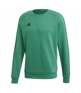 Sudadera de deporte para hombre adidas CORE 18 FS1898 de color verde al mejor precio en tu tienda de deportes online chemasport.es